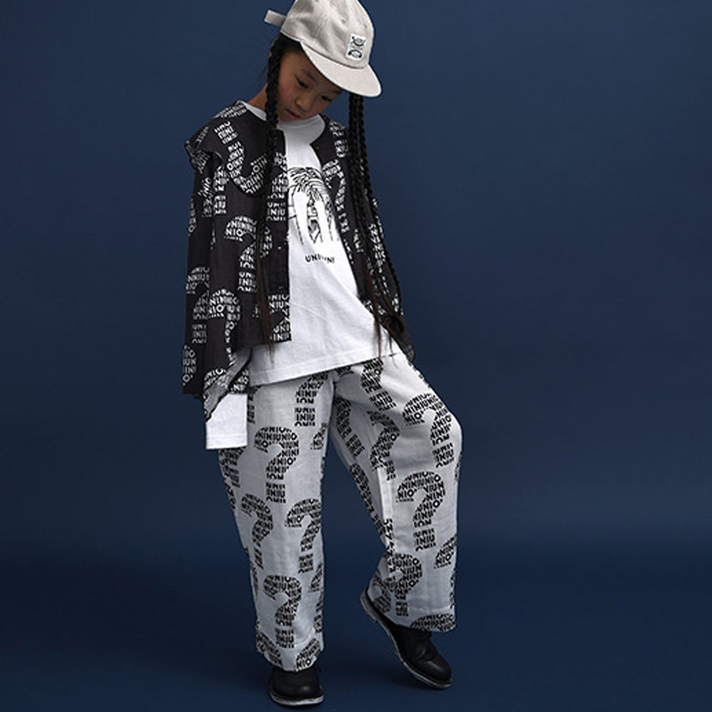 Nazo White Long Pants