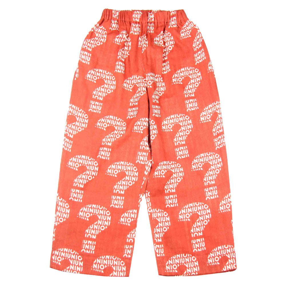 Nazo Red Long Pants