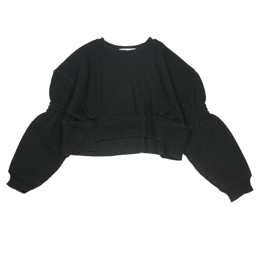Rich Knit Black Pullover