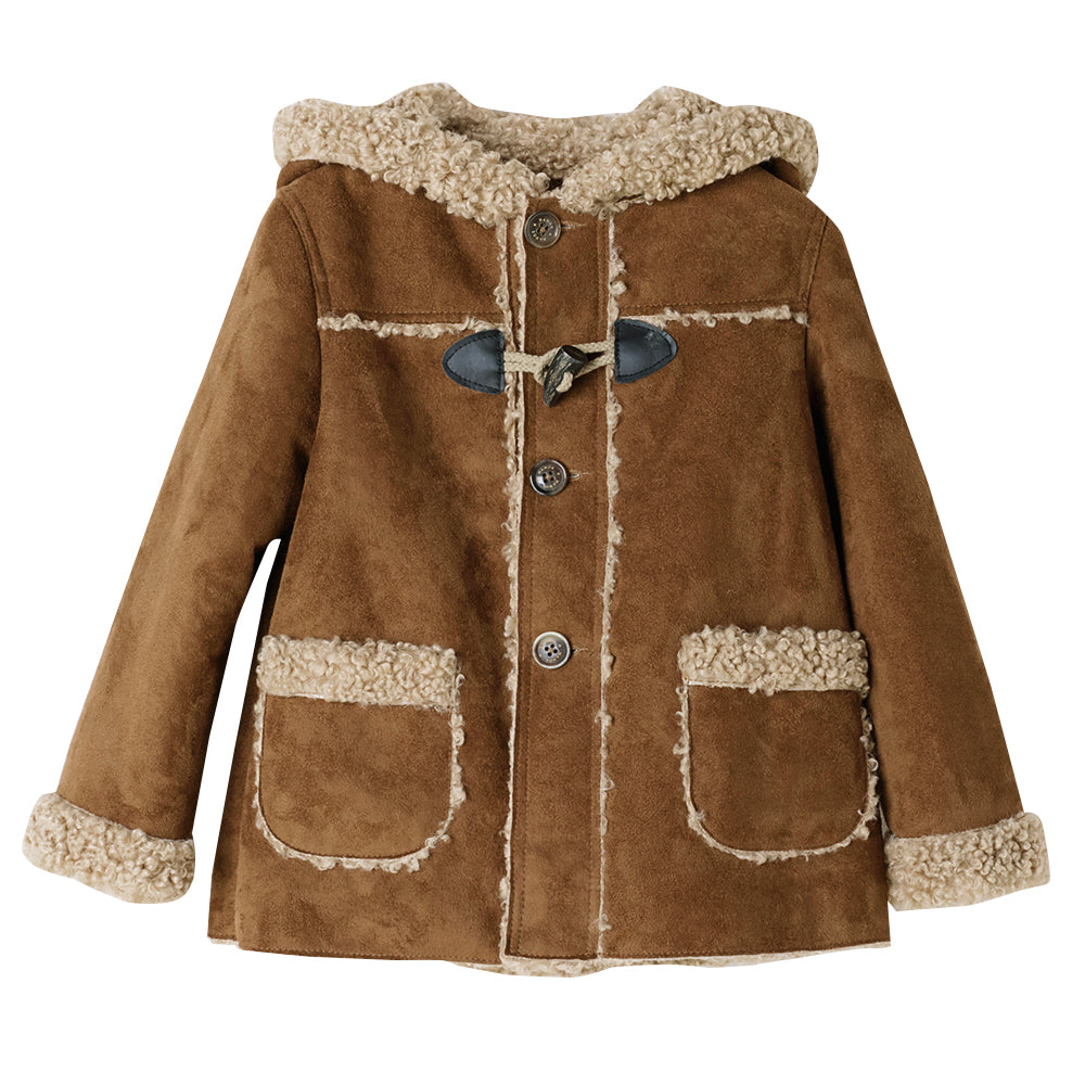 Shearling Toggle Coat