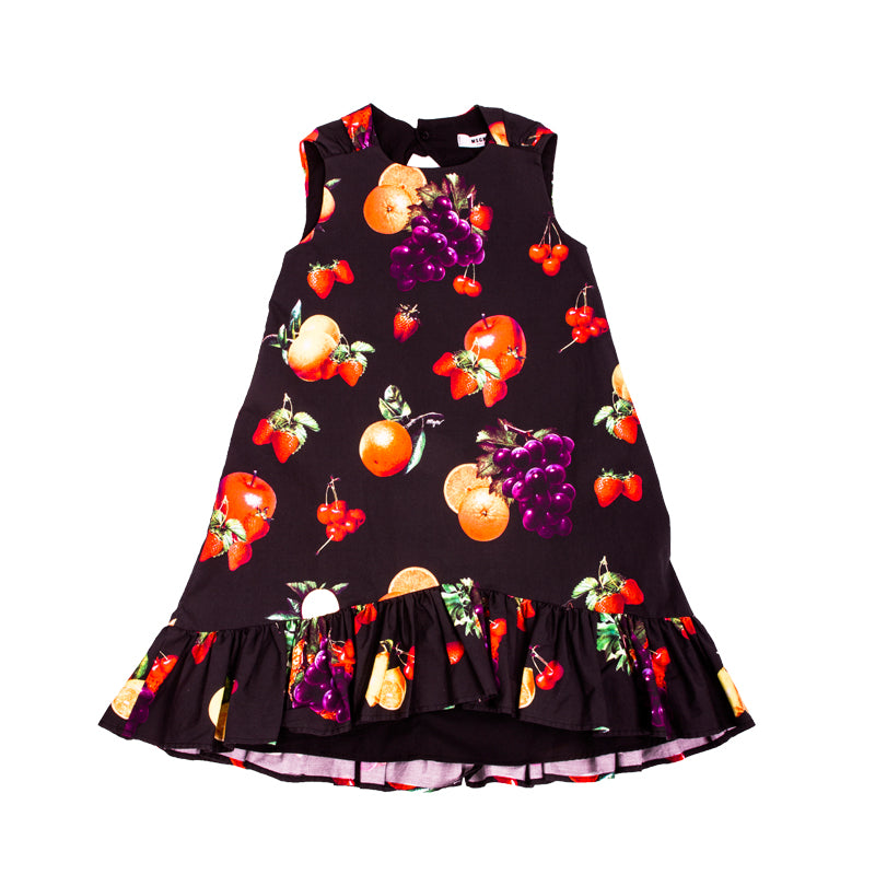 Ruffled Fruit Dress