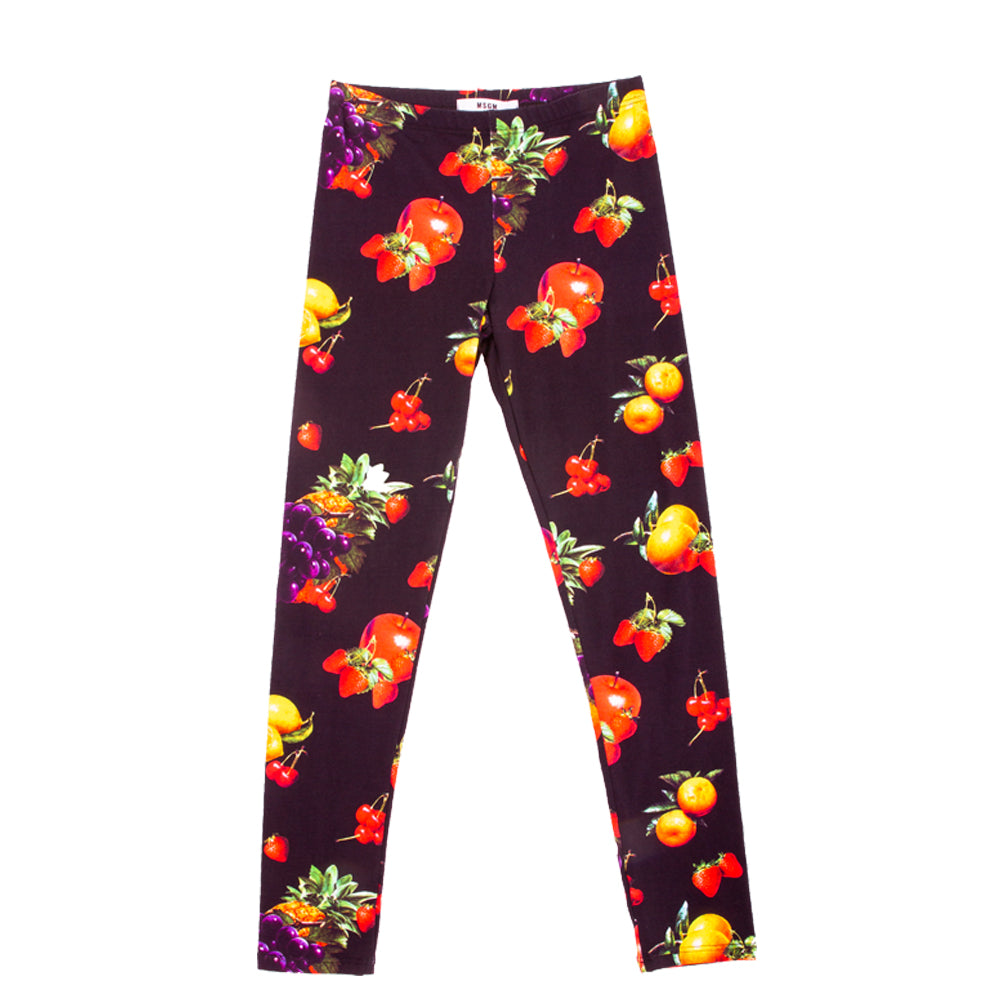 Fruit Print Leggings