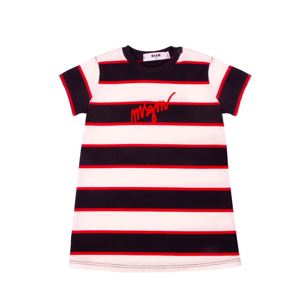 Striped Baby MSGM Dress