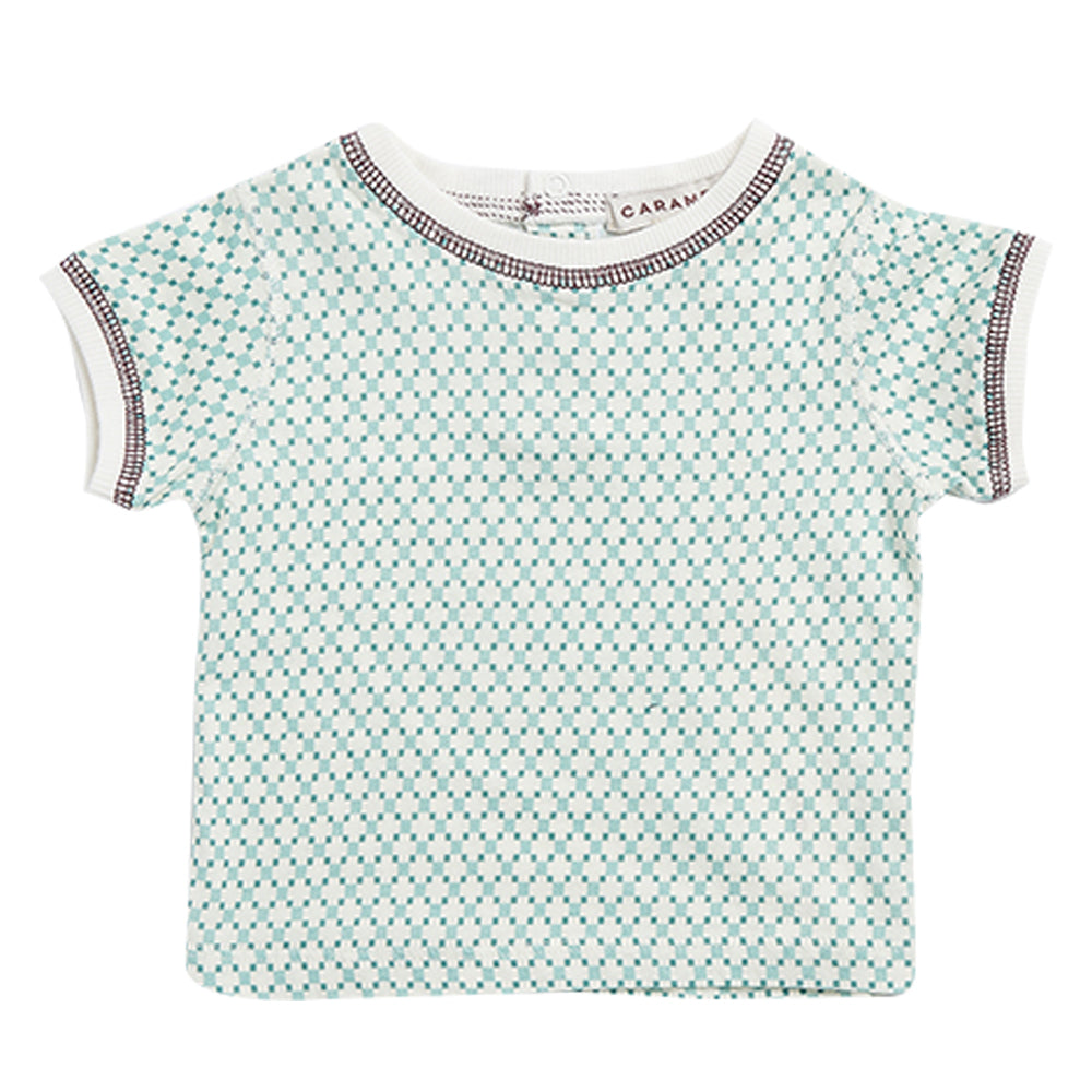 Muswell Storm Checked Baby T-Shirt