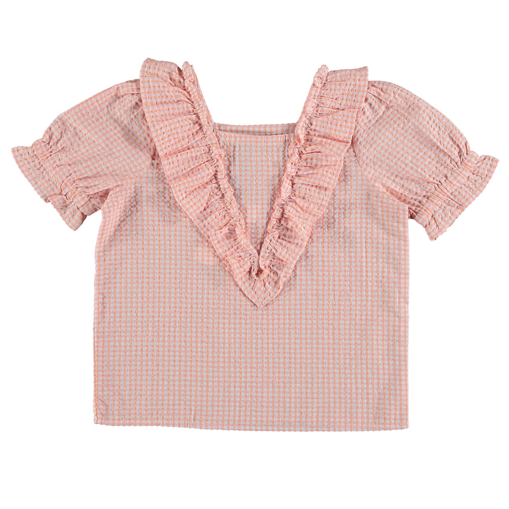 Freesia Pink Blouse