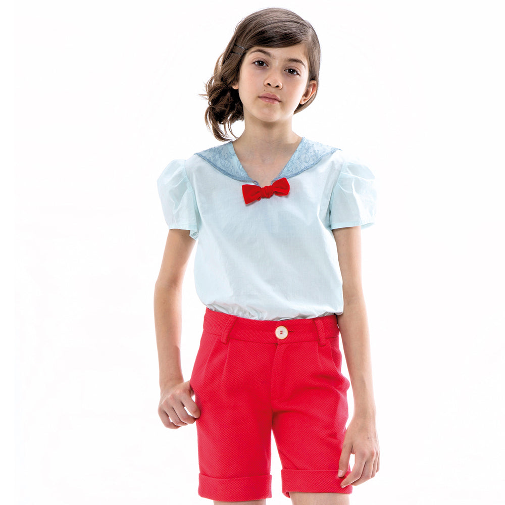 Red Poupee Shorts