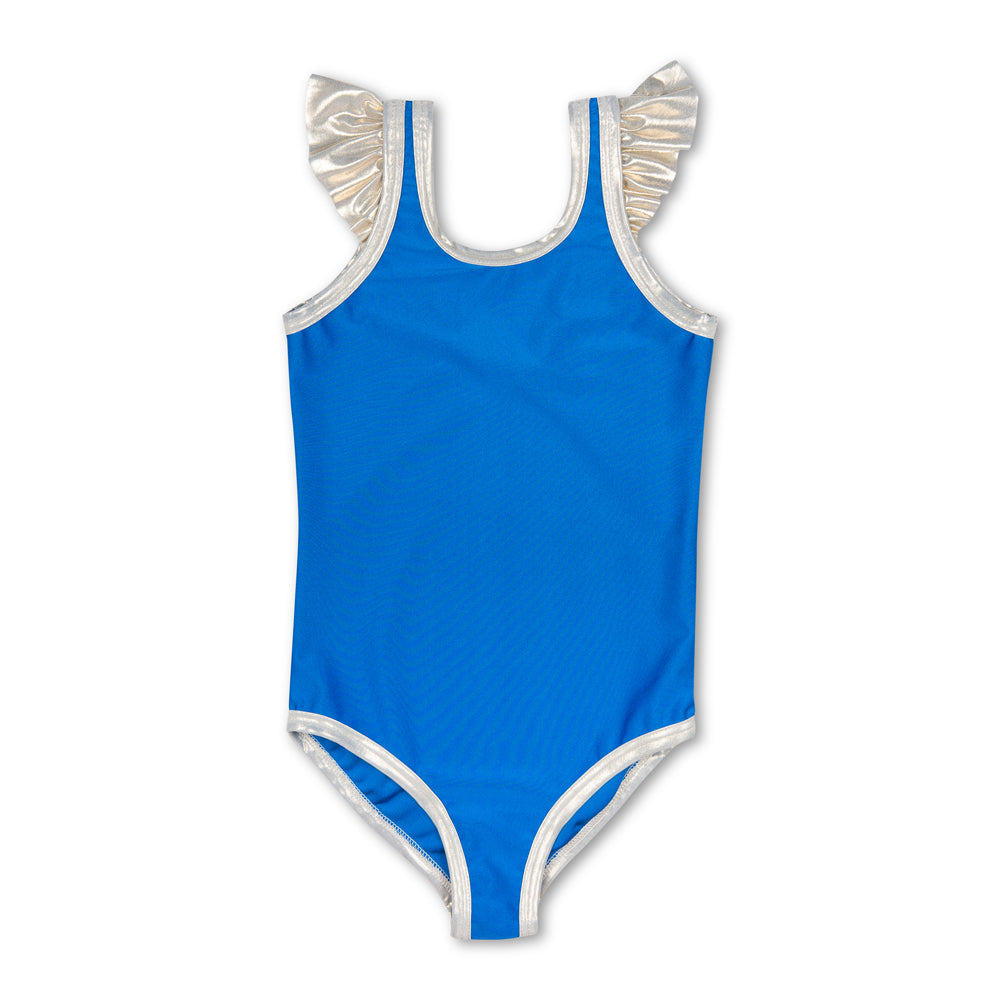 Vicky Blue Swimsuit