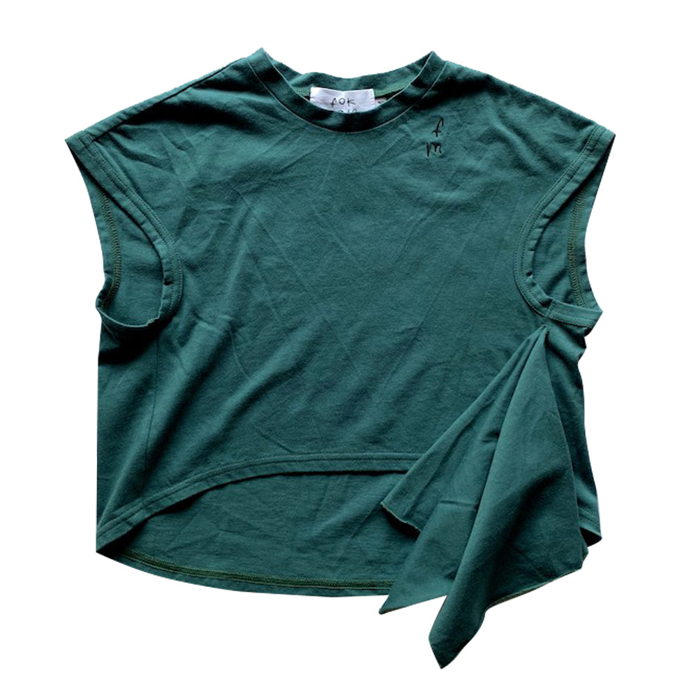Green Scarf T-Shirt