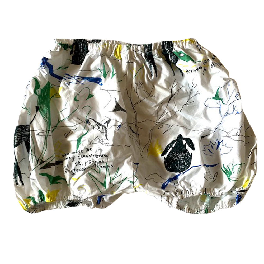 Folkloric Print Bloomers