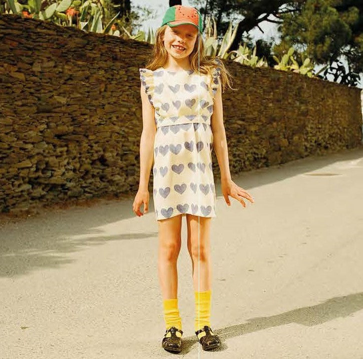 Weasel Yellow Hearts Dress