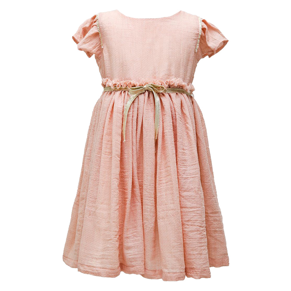 Rose Jacqard Casiopea Dress