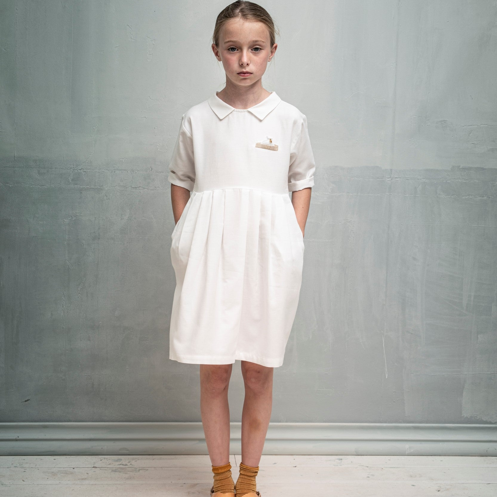 White Hyedra Dress