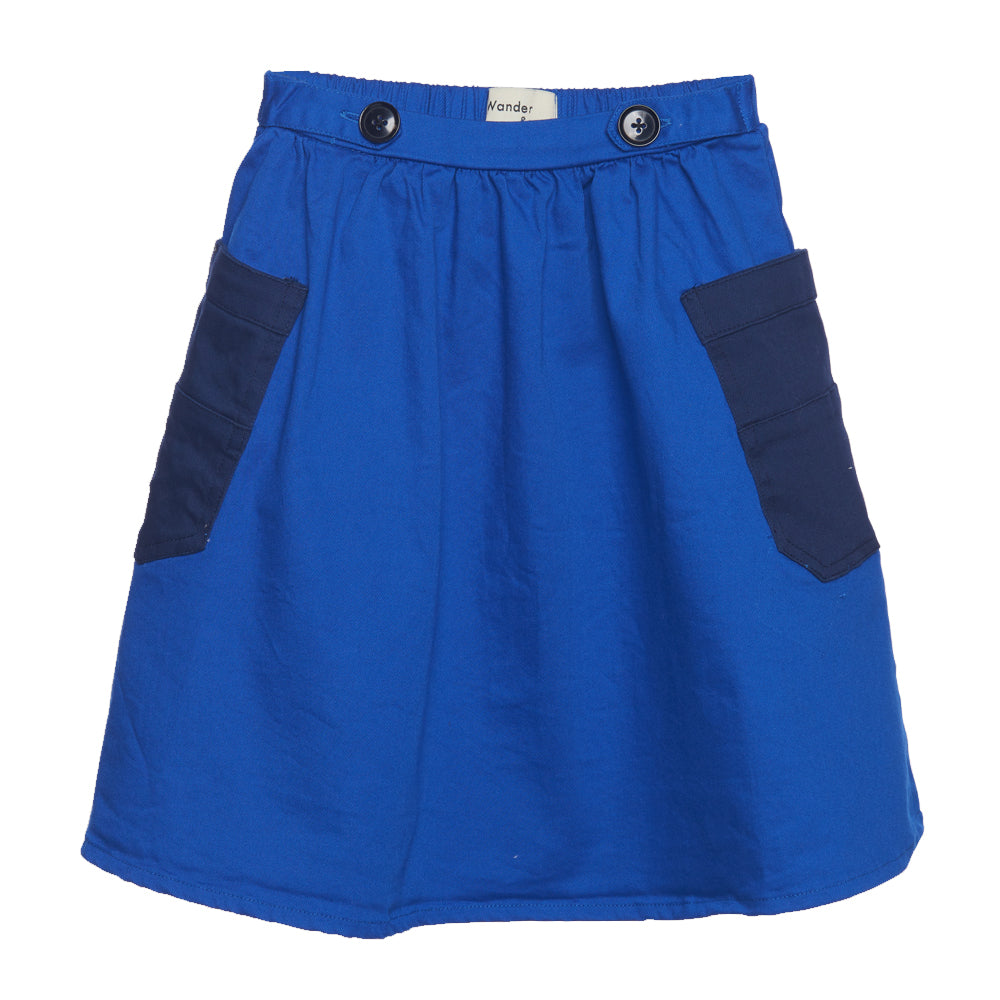 French Blue Pocket Skirt