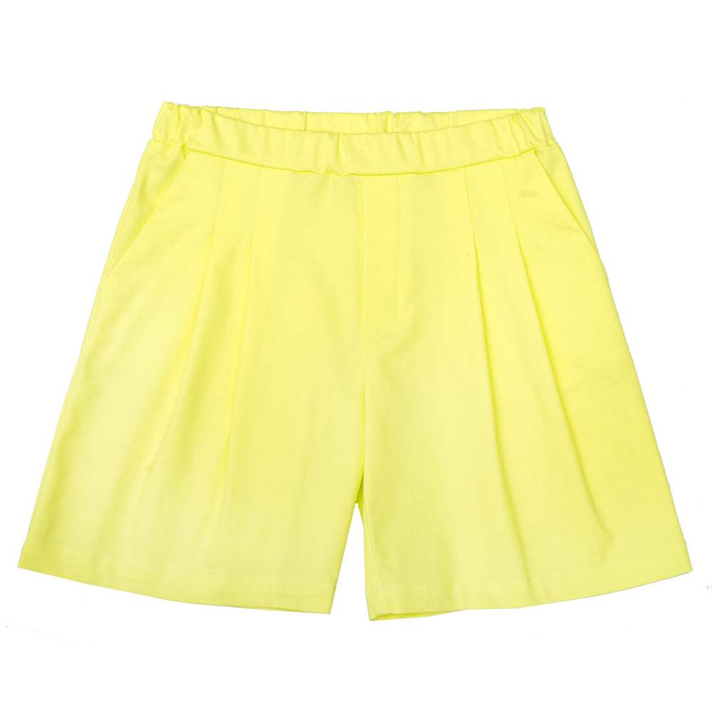 Flax Yellow Shorts