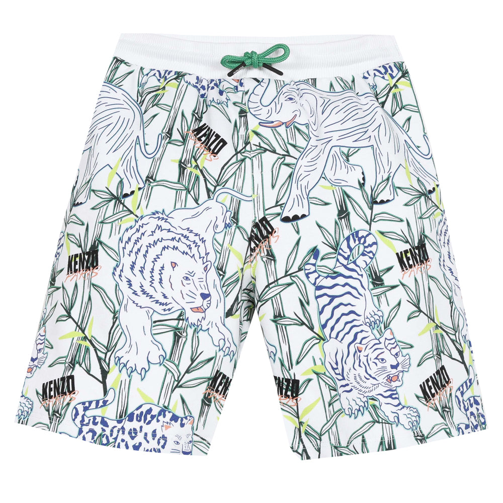 Optic White Bermudas