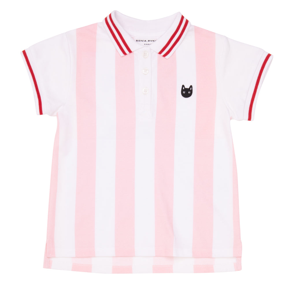 Ecume Striped Polo T-Shirt