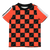 Red Check Carolification Soccer Shirt