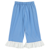 Sport Blue Frilled Track Pants