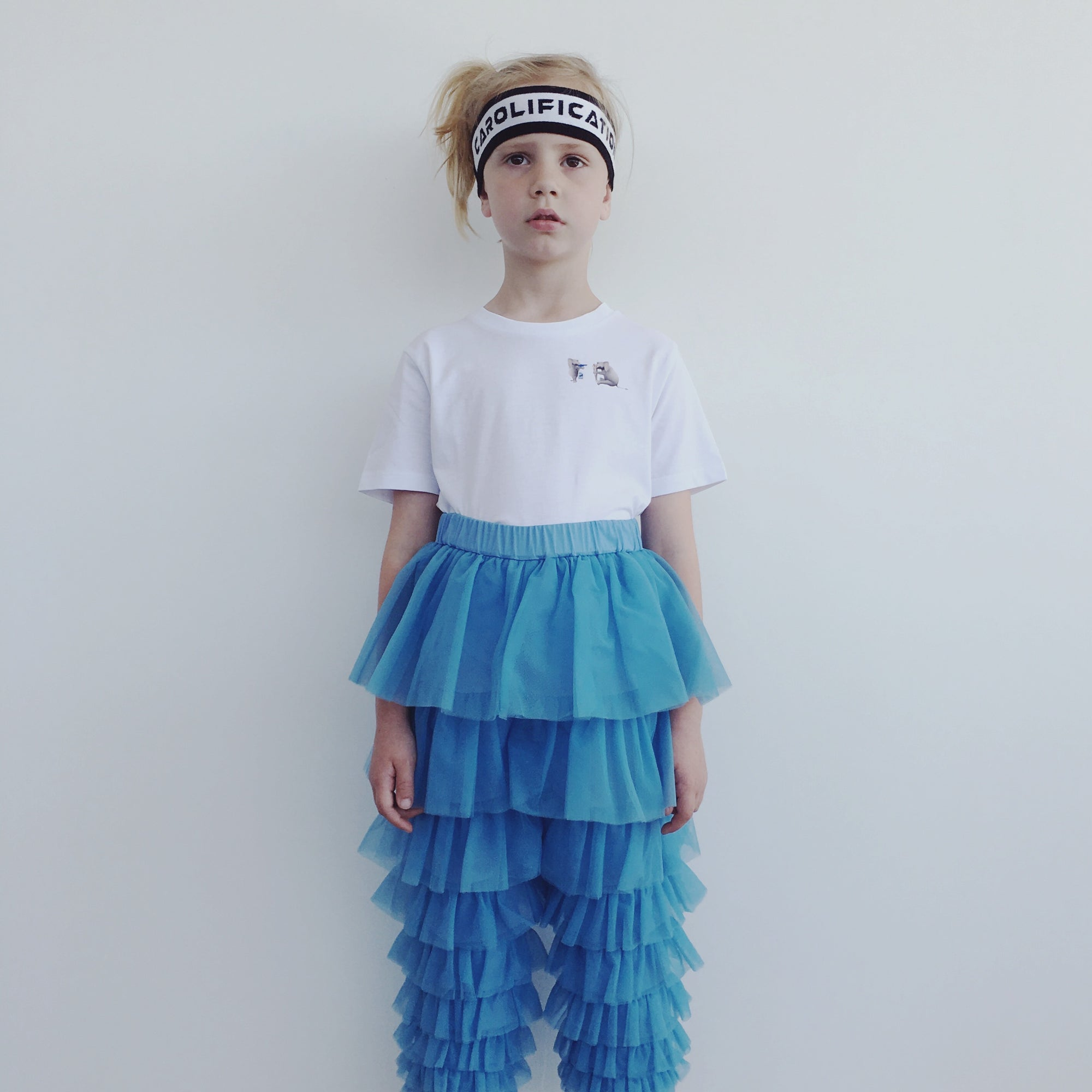 Blue Tulle Pants