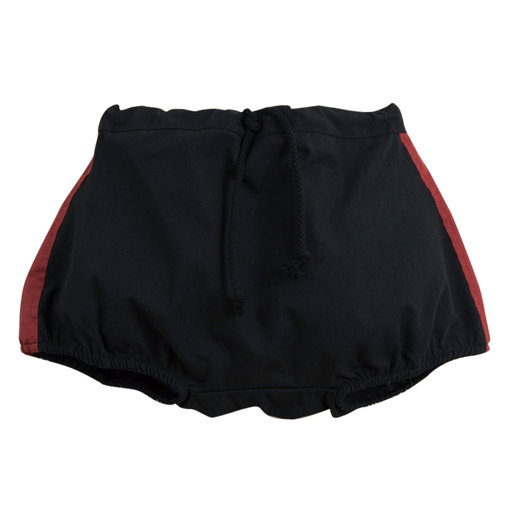 Black Side Stripe Bloomers