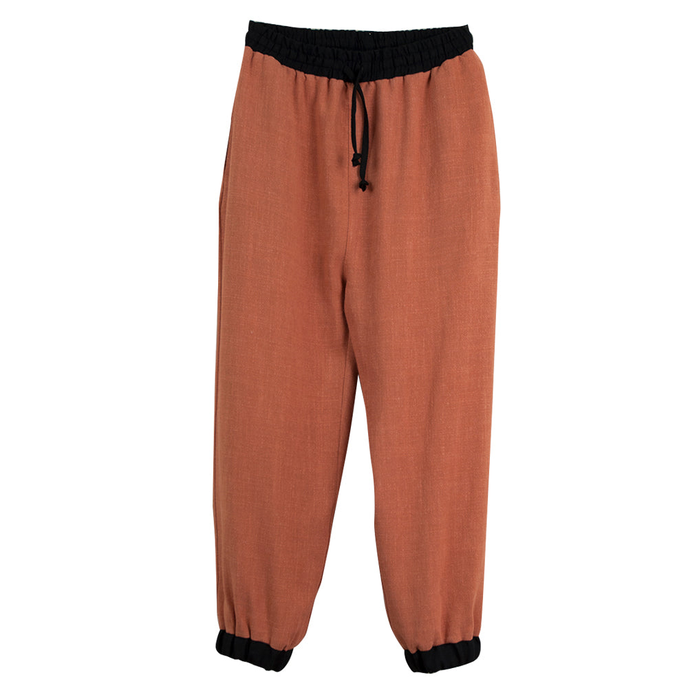 Orange Jogger Trousers