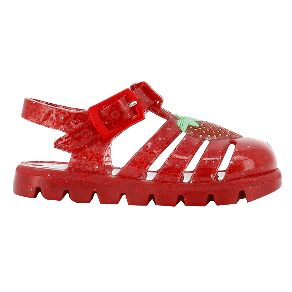Strawberry Jelly Sandals