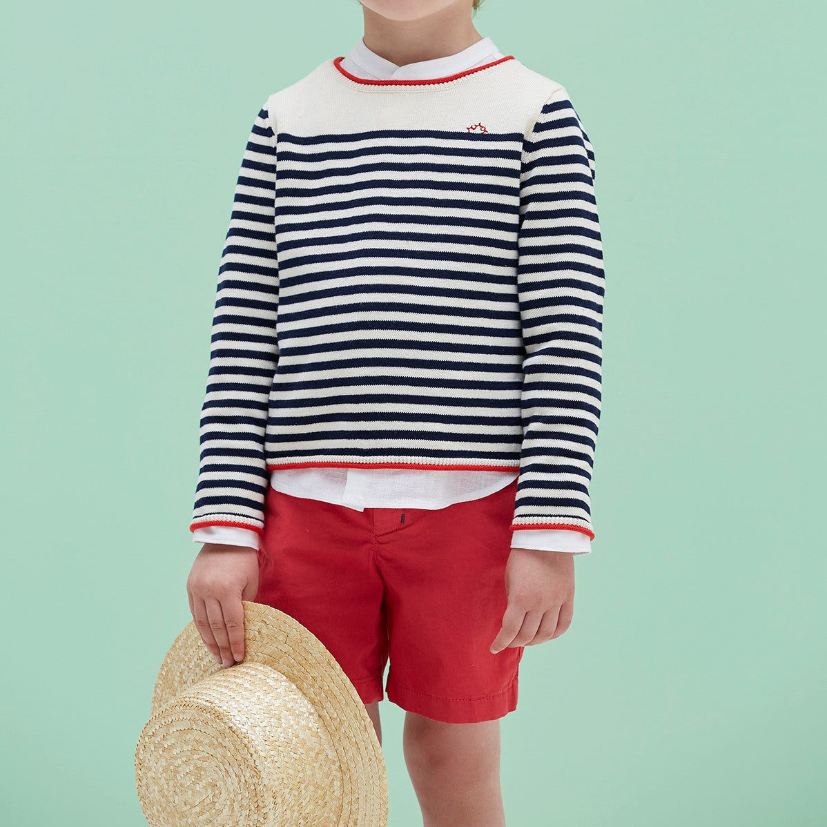 Striped Nanos Nautical Sweater