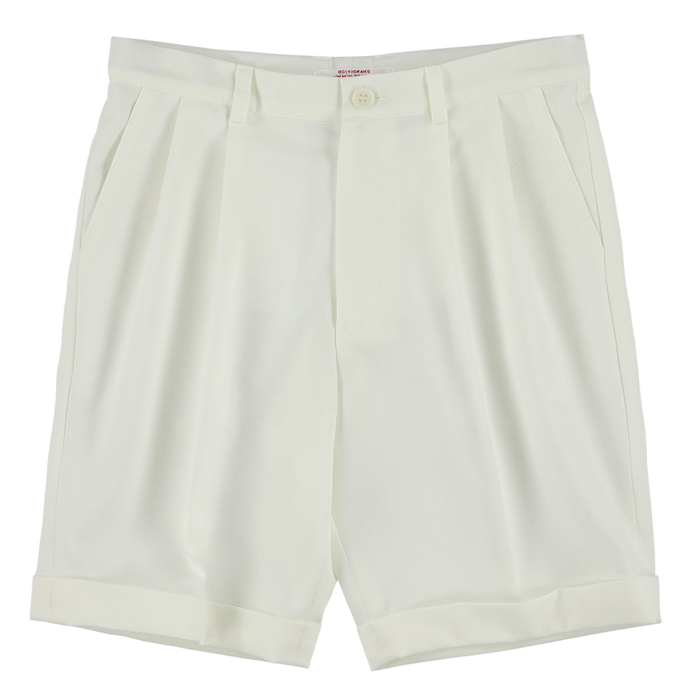 Off White Suit Shorts