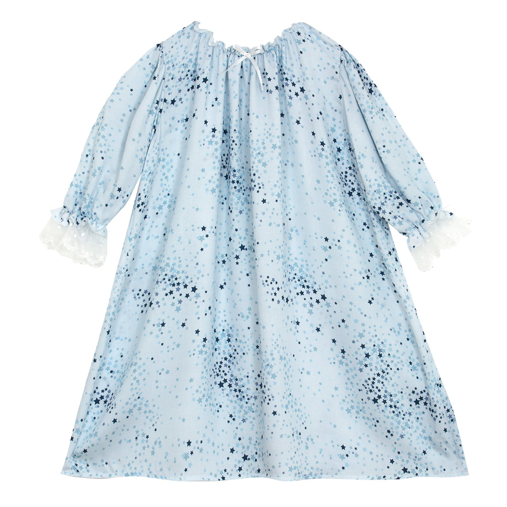 Victoria Blue Stars Nightdress