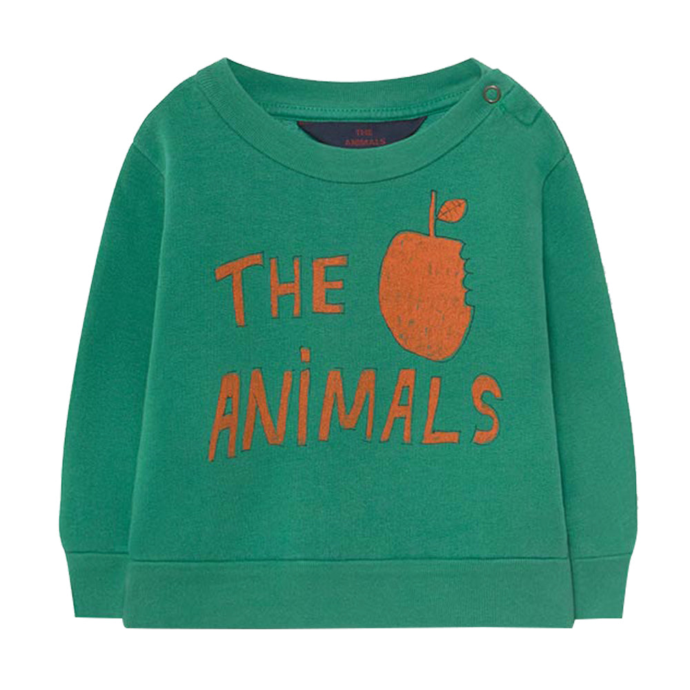 Bear Green Baby Sweatshirt