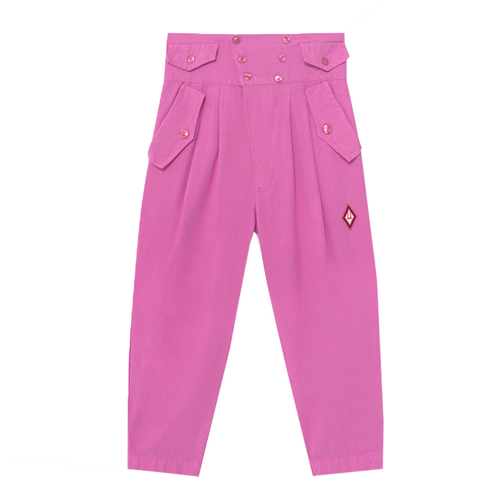 Camel Pink Logo Trousers