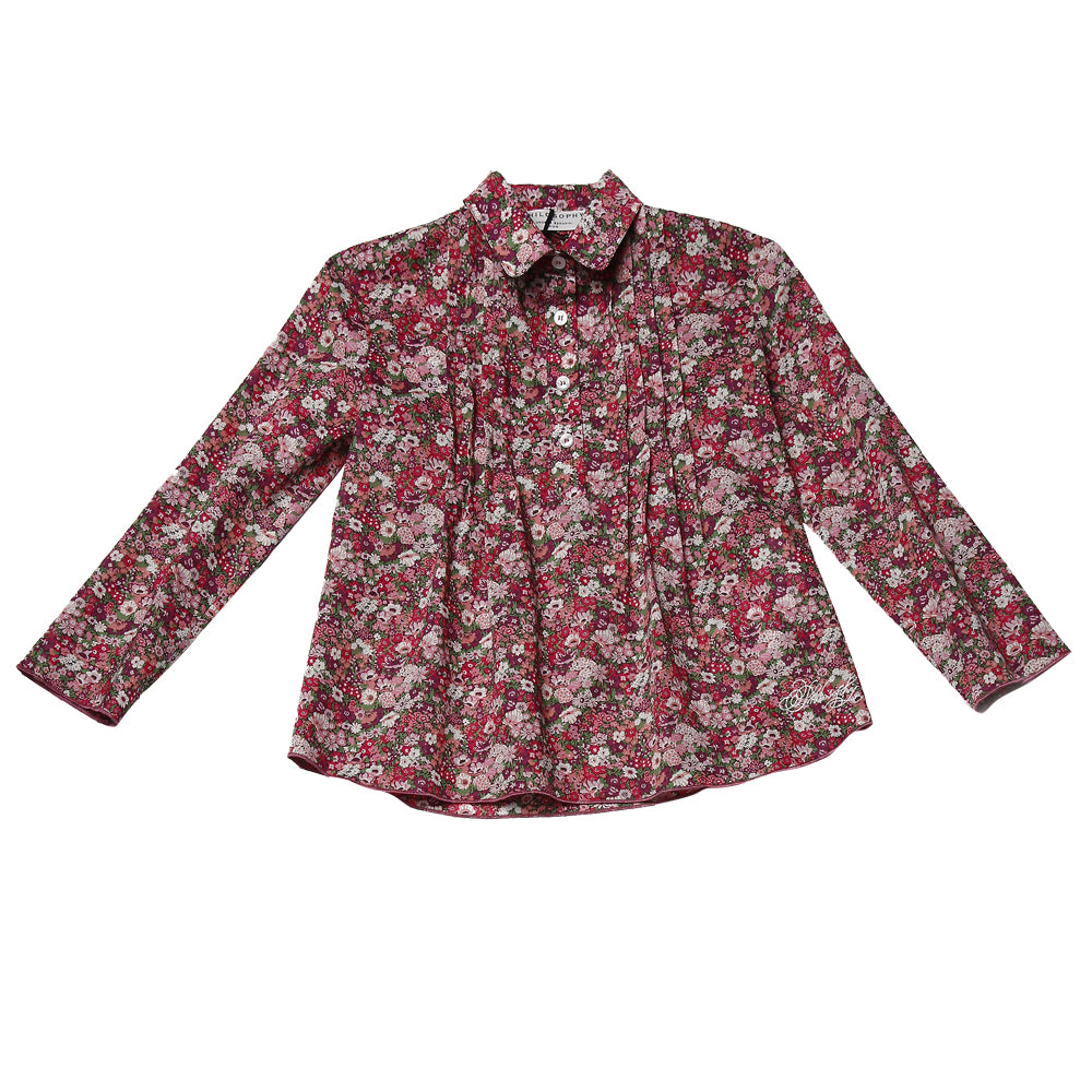Liberty Pin Tucked Blouse