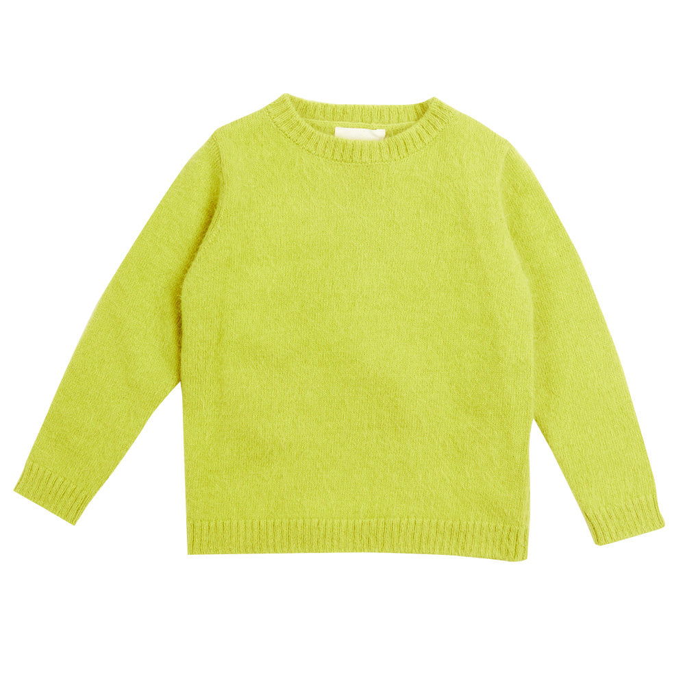 Kiwi Green Knit Sweater