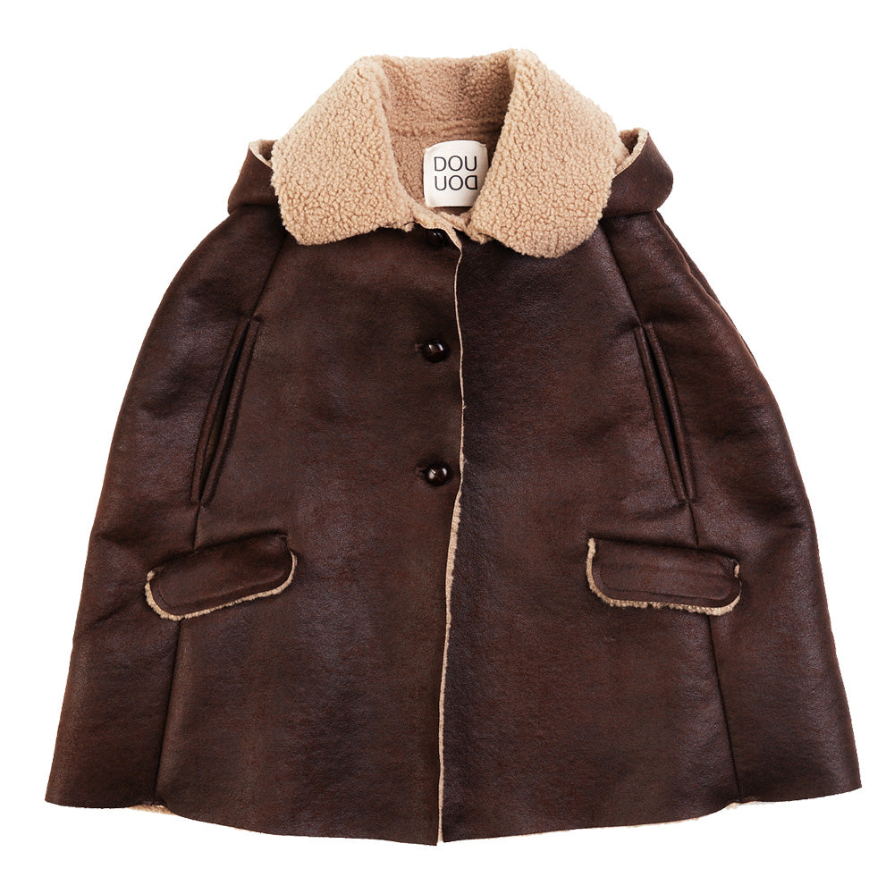 Ecoleather Cape Jacket