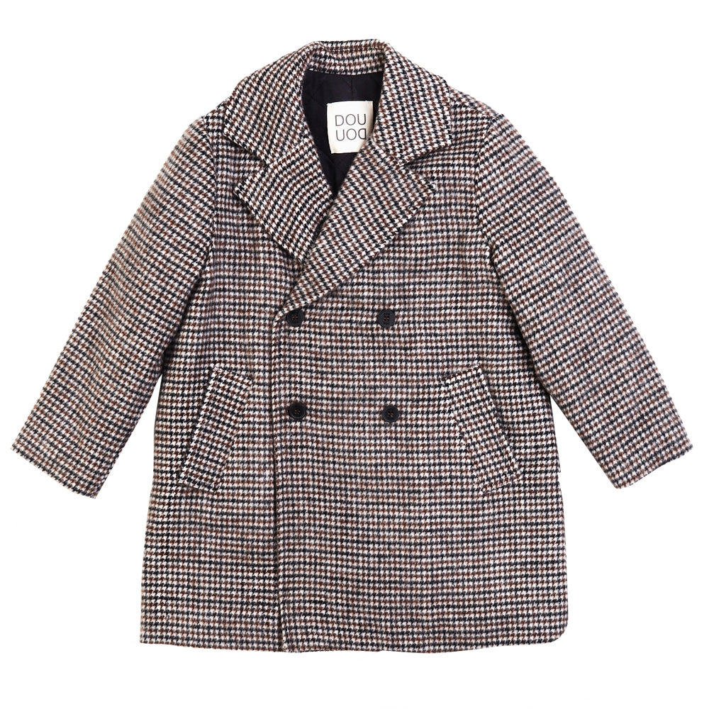 Houndstooth Woven Jacket