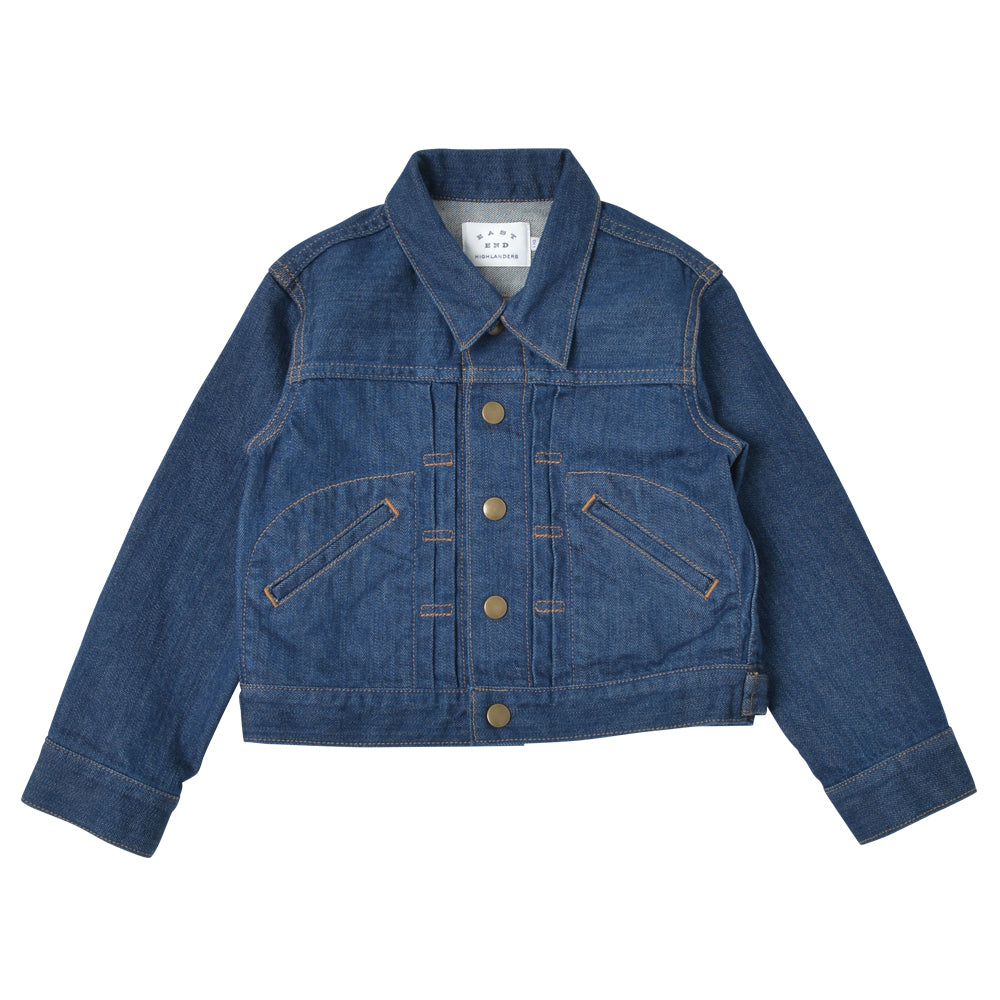 Indigo Denim Jacket