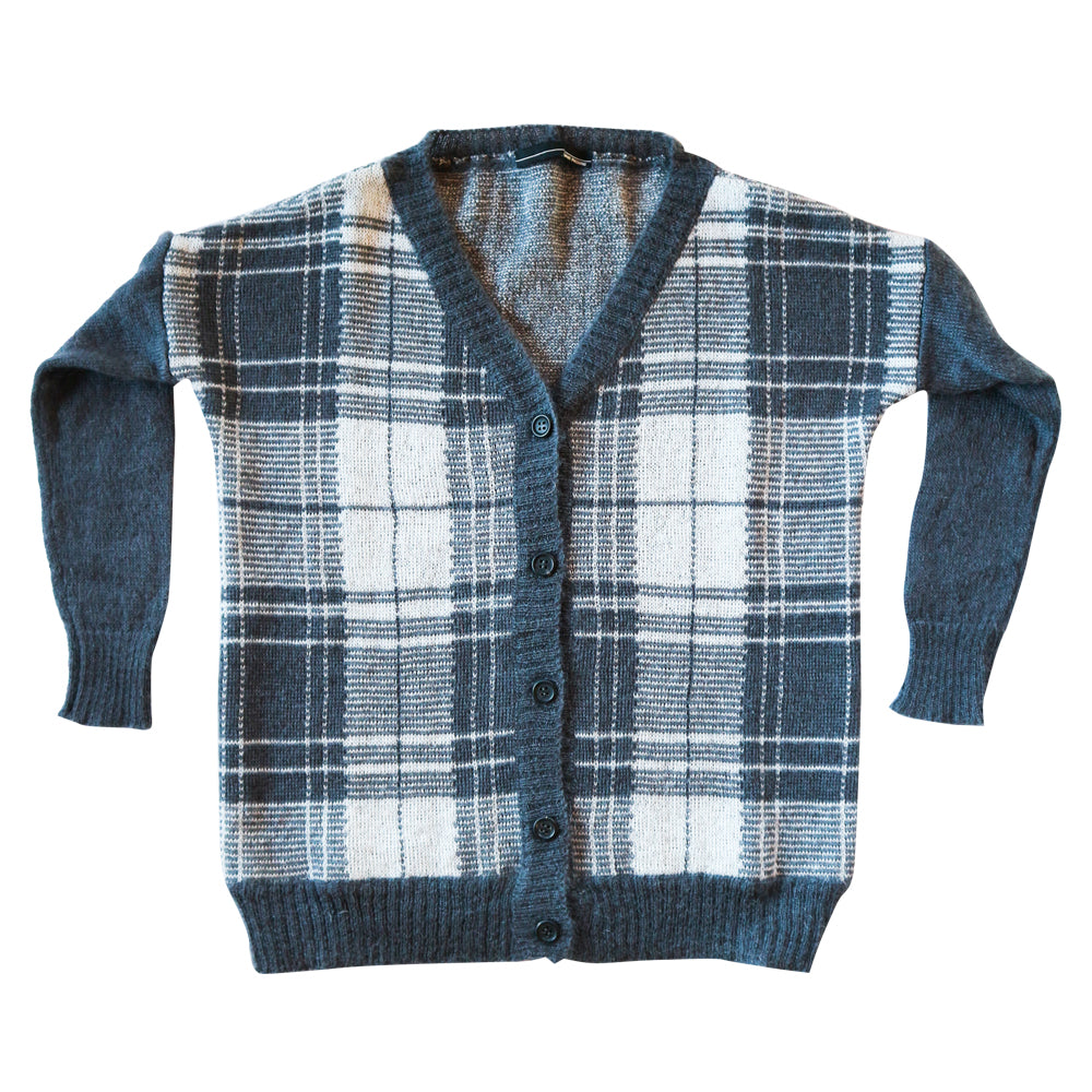 Asphalt Scottish Cardigan