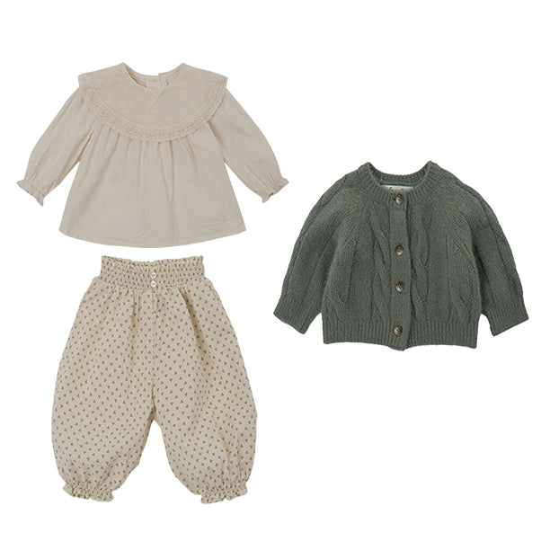 Hazel Natural Baby Blouse