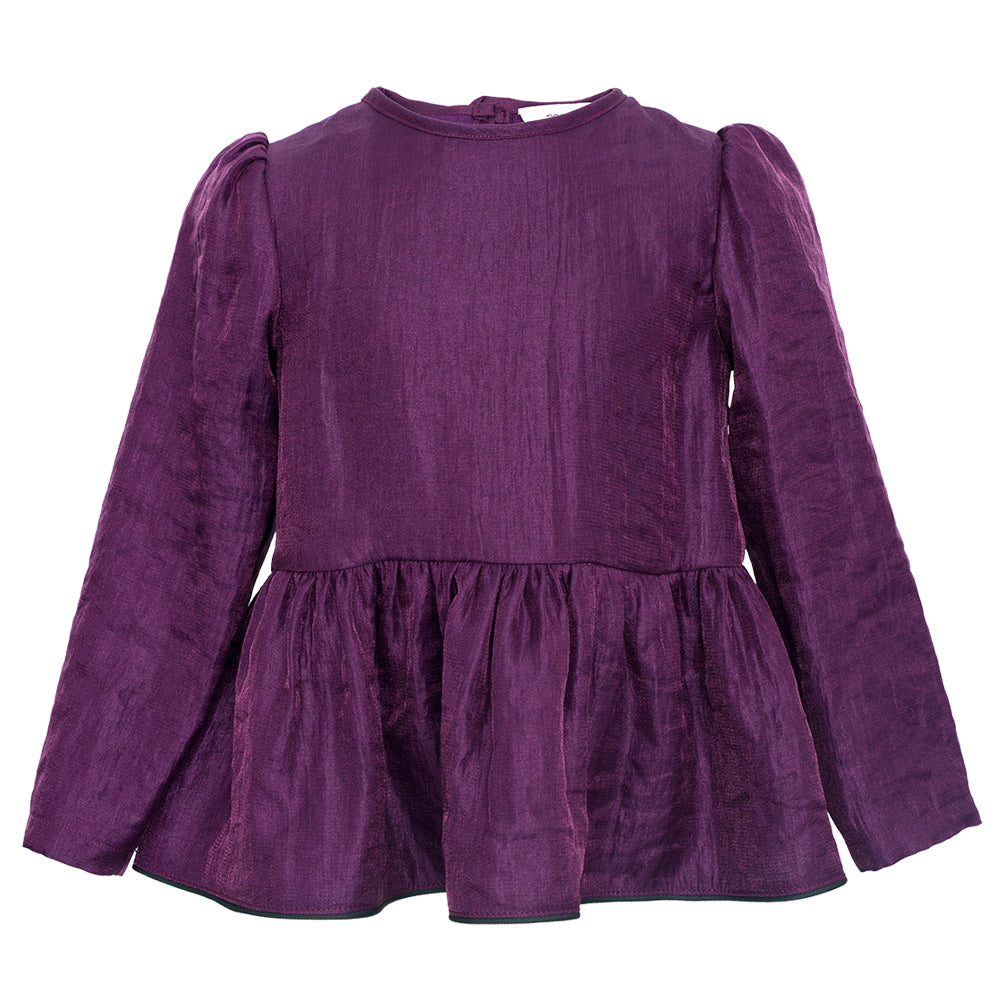 PREORDER: Mira Purple Blouse