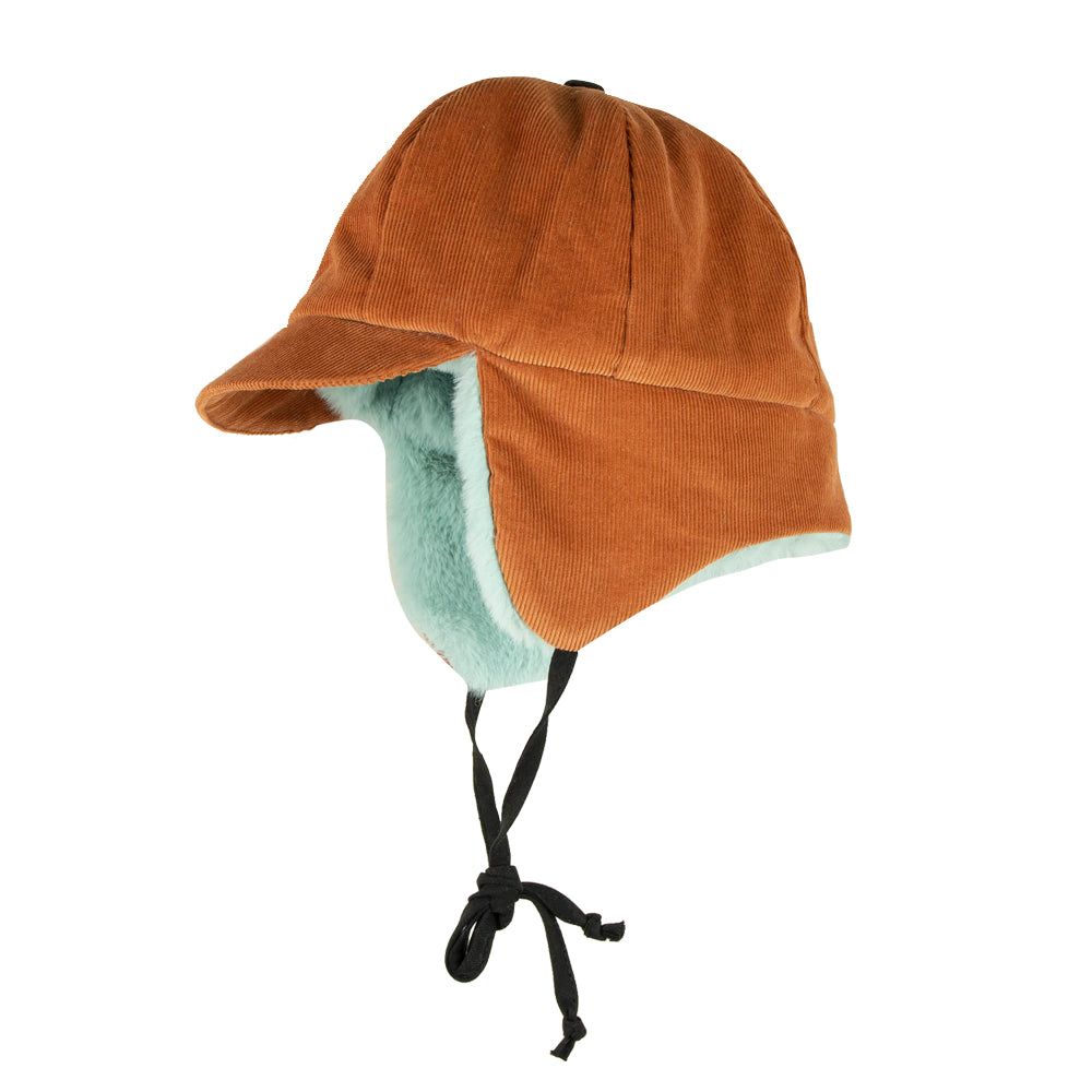 Orange Reversible Hat
