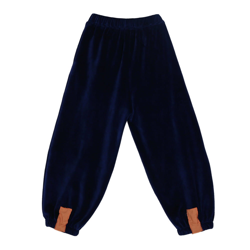 Navy Balloon Pants
