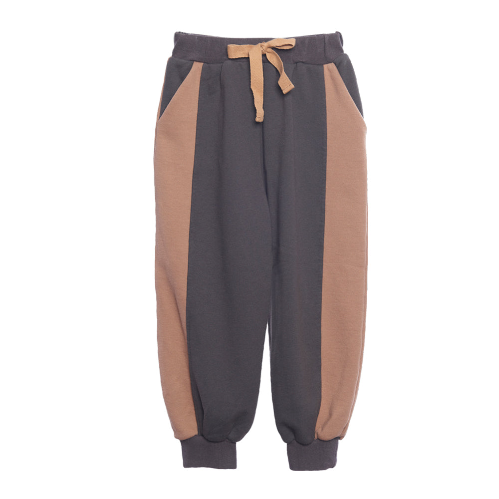 Charcoal Two Tone Sweatpants