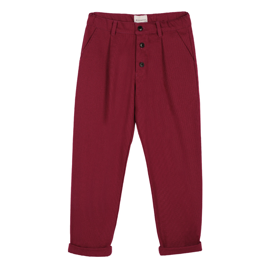 Loneta Red Canvas Pants