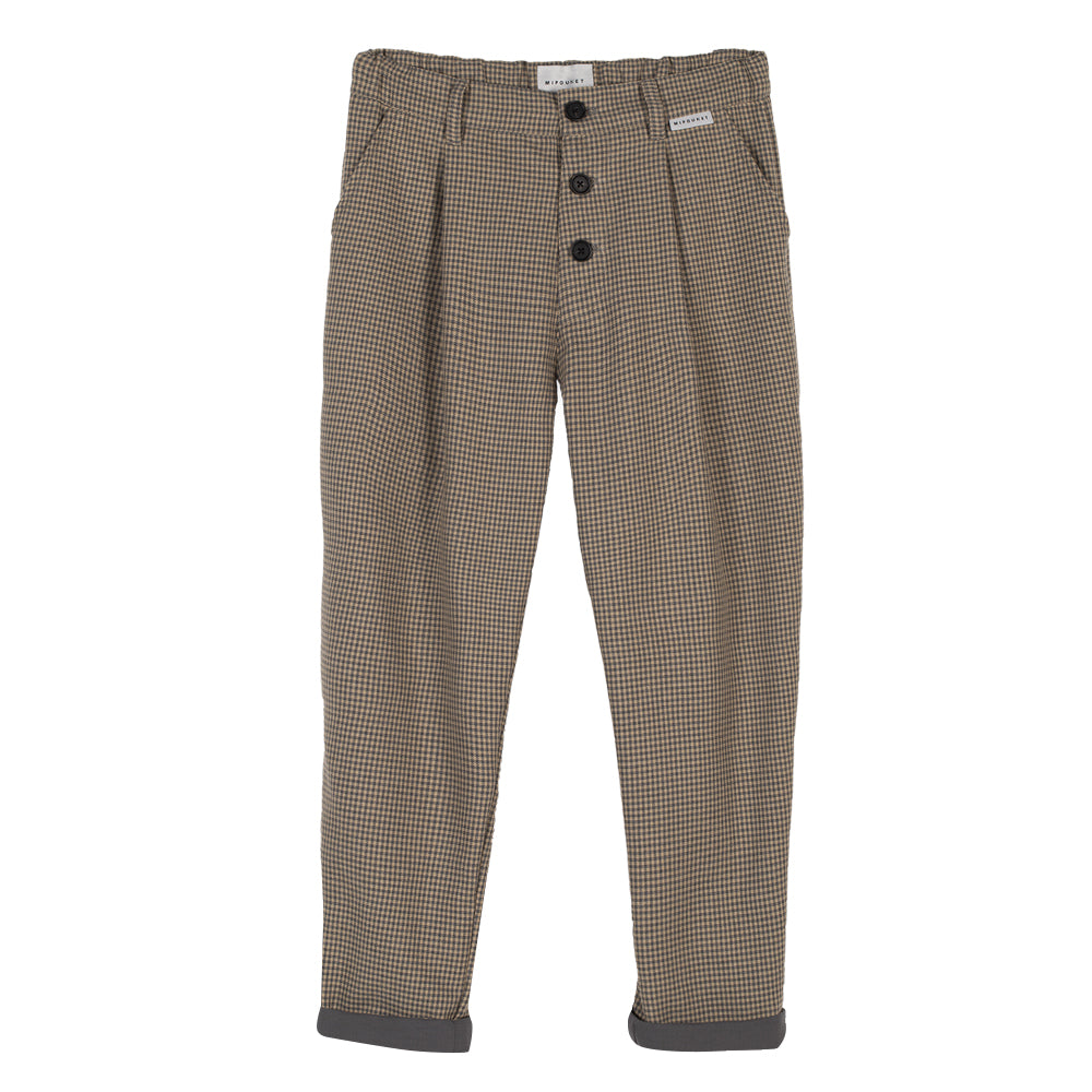 Vichy Brown Pants