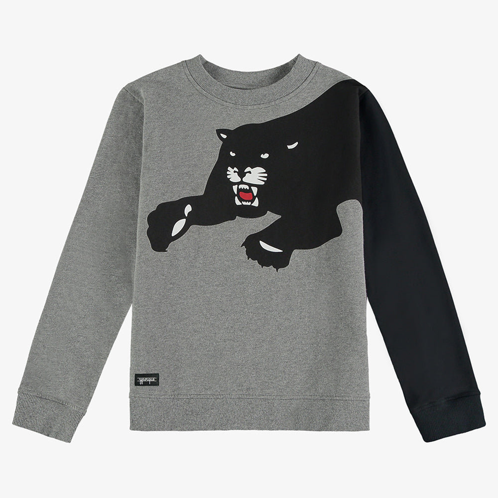 Panther Sleeve Sweatshirt