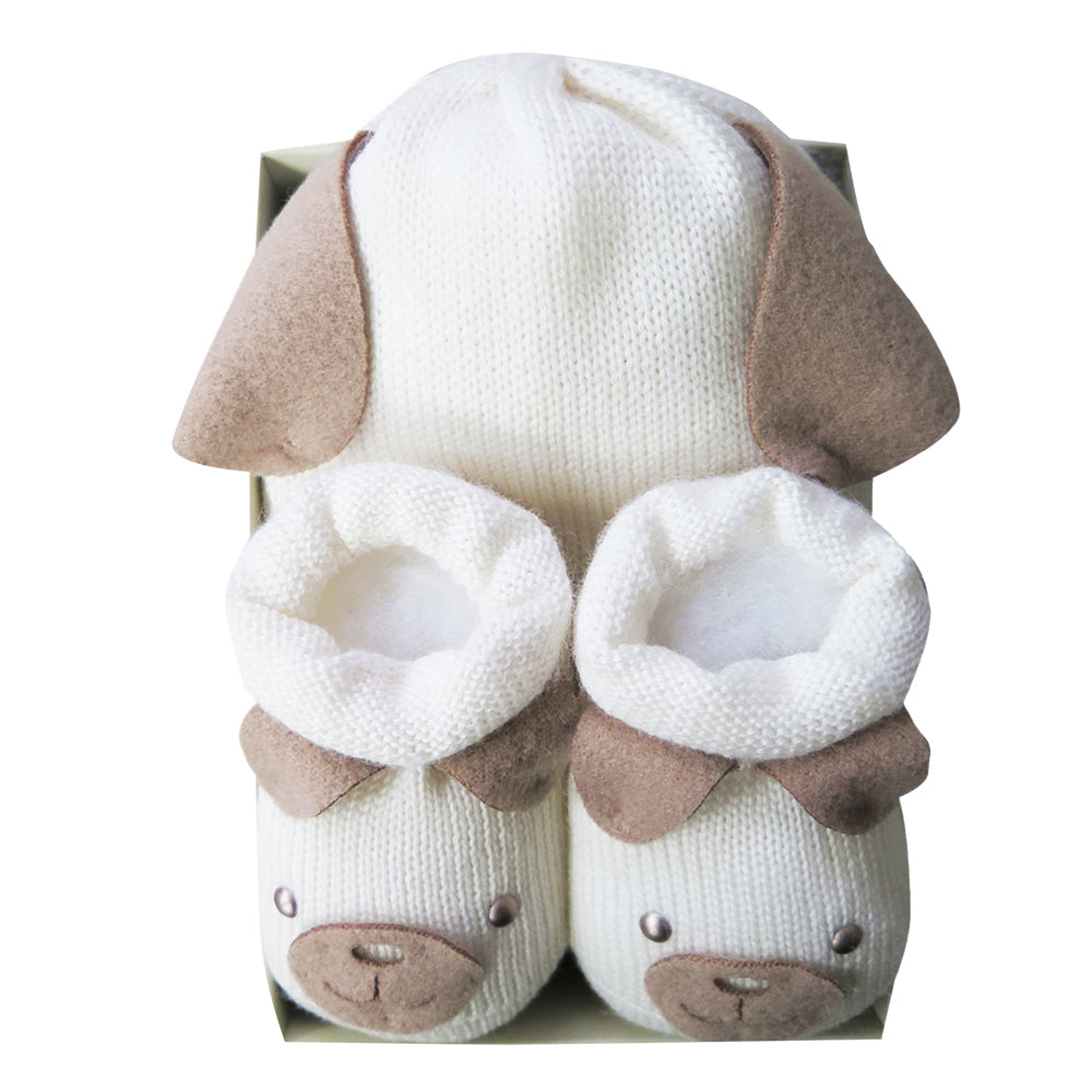 Doggy Hat and Bootie Set