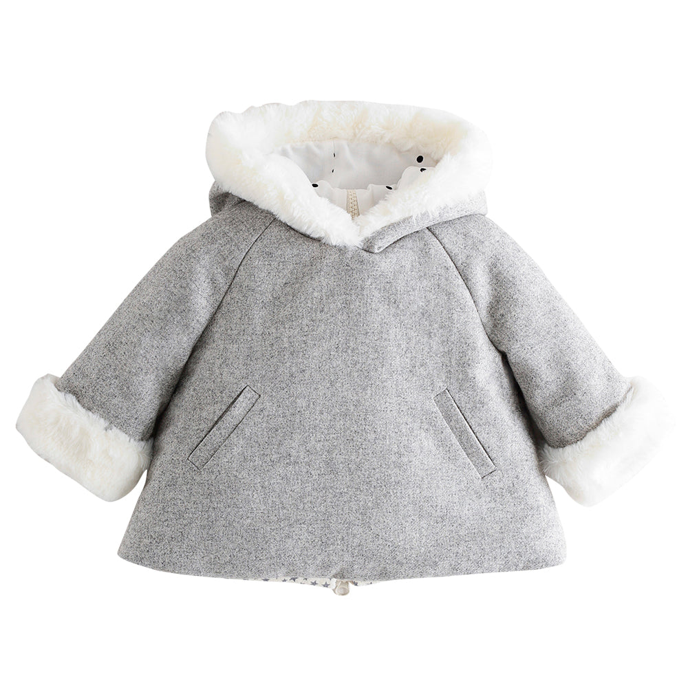 Fur Lined Baby Jacket