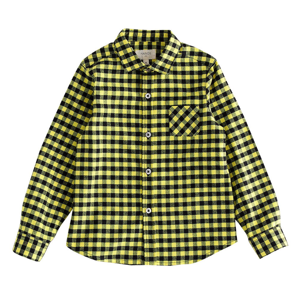 Fluo Checked Shirt