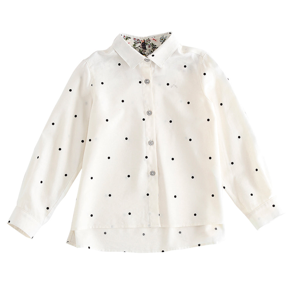 Polka Dotted Blouse