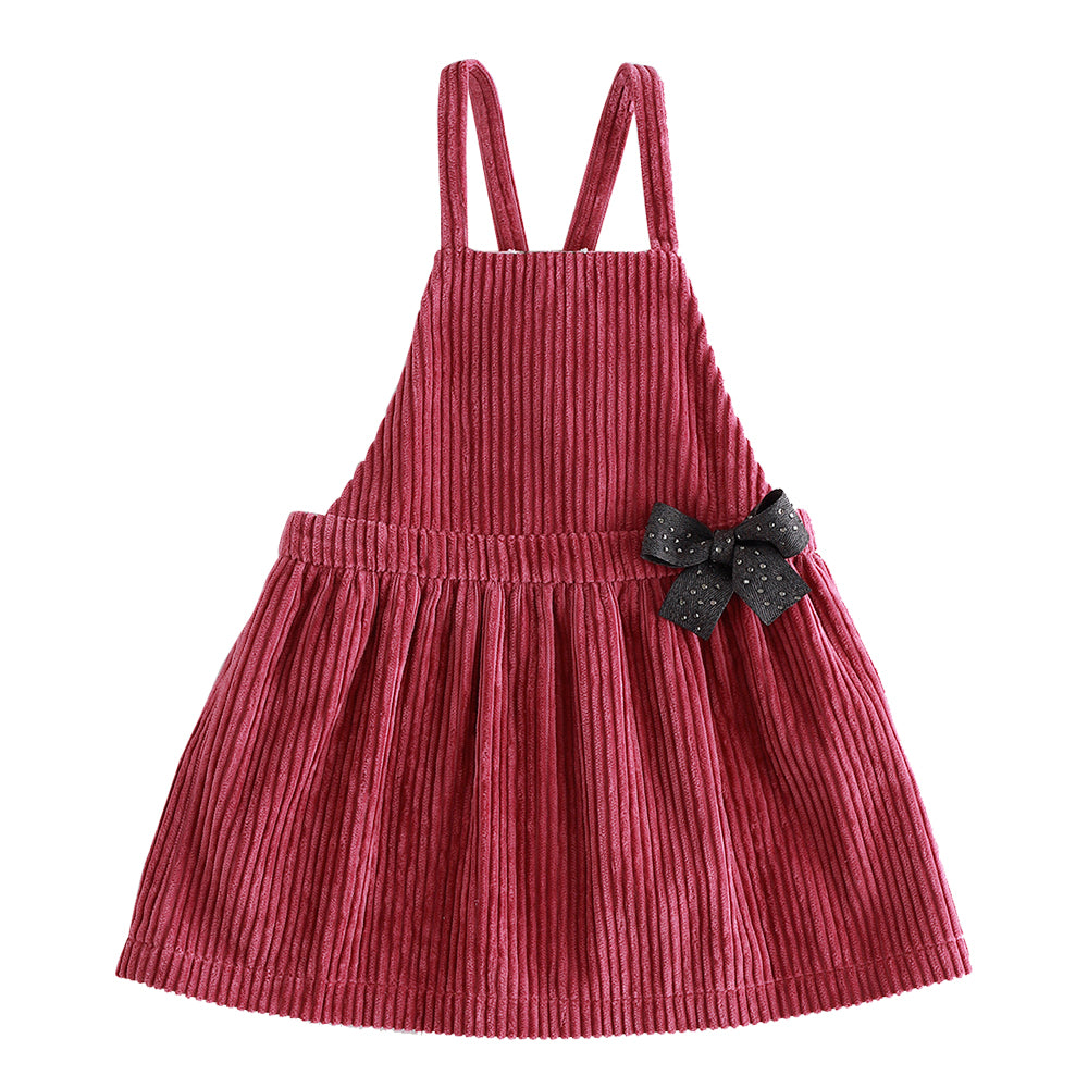 PREORDER: Corduroy Rose Jumper Dress
